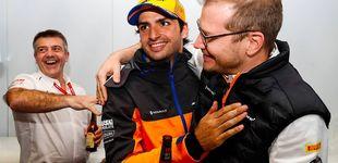 Post de El día grande de Carlos Sainz: