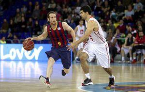 El Barcelona no acusa las bajas y se recupera ante el CAI Zaragoza