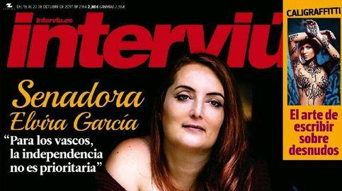 La senadora alavesa expulsada de Podemos se desnuda para 'Interviú'