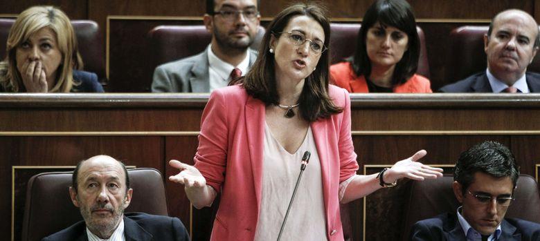 Foto: La portavoz del grupo parlamentario socialista, Soraya Rodríguez. (EFE)