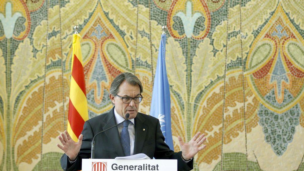 Foto: Mas asegura que un estado catalán sería un socio de confianza internacional. (EFE)