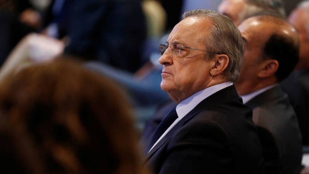 El aislamiento de Florentino Pérez en la crisis del Real Madrid