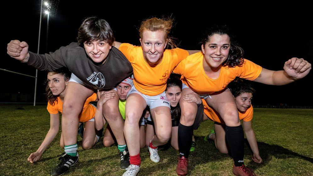 Foto: Acto promocional del deporte femenino en Toledo. (EFE)