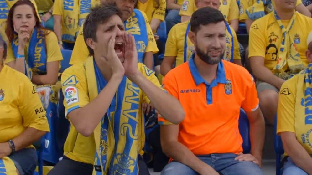 Foto: Una imagen del anuncio de Las Palmas.