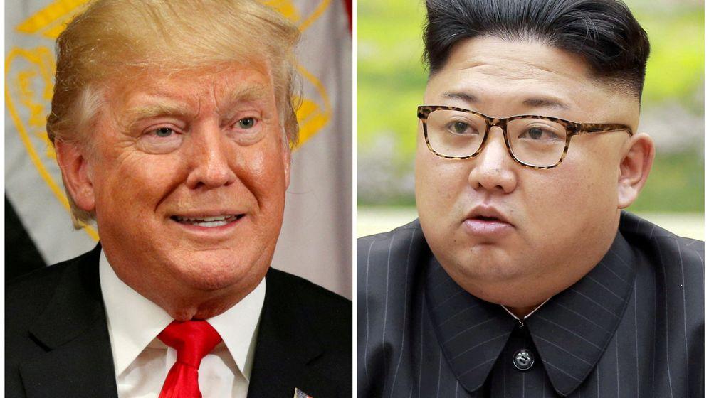 Foto: Donald Trump y Kim Jong Un. (Reuters)