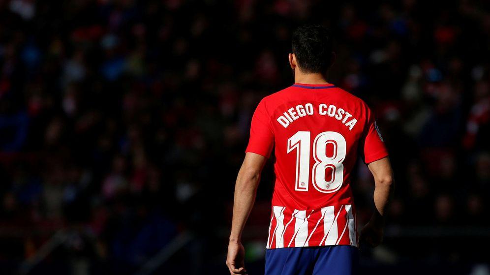 Foto: Diego Costa en el Wanda Metropolitano. (Reuters)