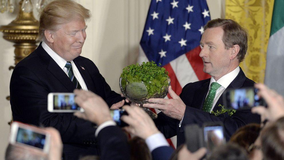 El proverbio irlandés favorito de Trump: ni es proverbio, ni tampoco irlandés