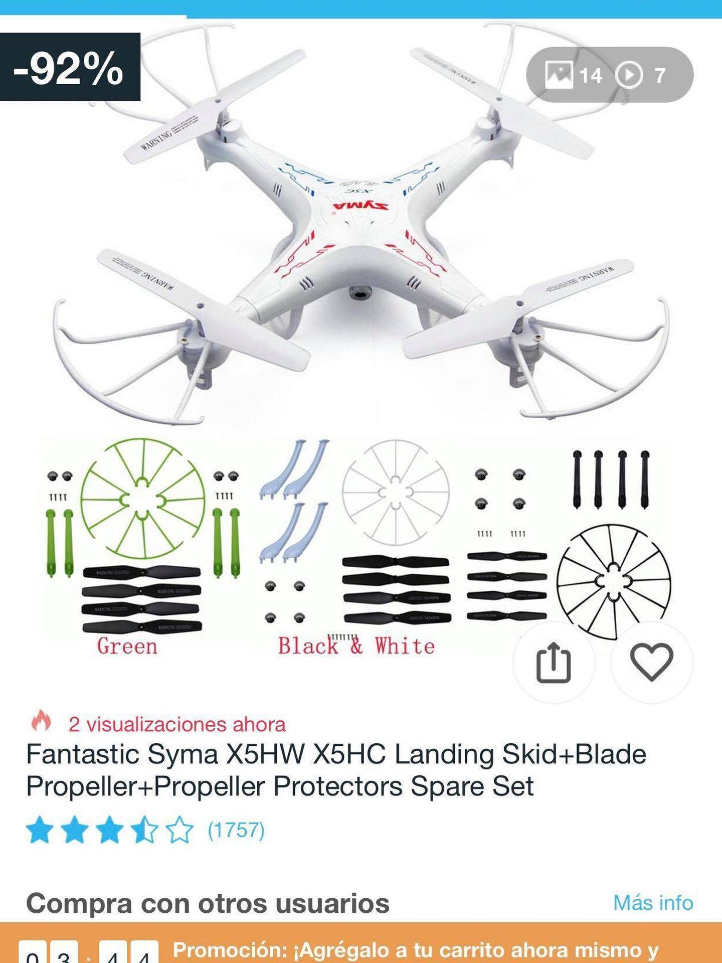 Oferta del 'drone'