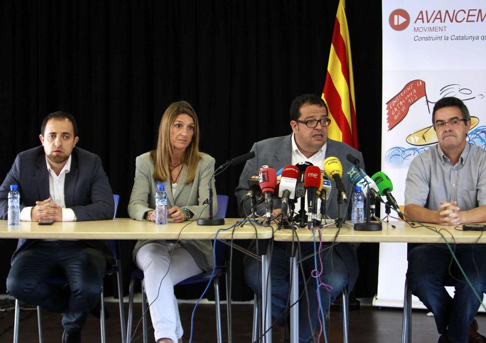 Foto: Fabián Mohedano, Mónica Plana, Joan Ignasi Elena y Jordi del Río. (Efe)