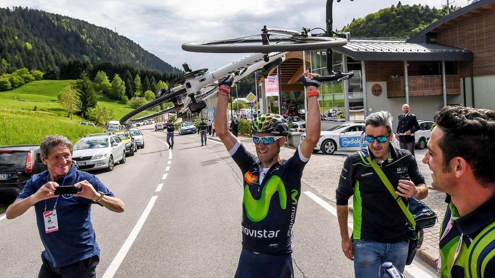 Valverde revienta a Nibali y por fin es una amenaza para el líder Kruijswijk