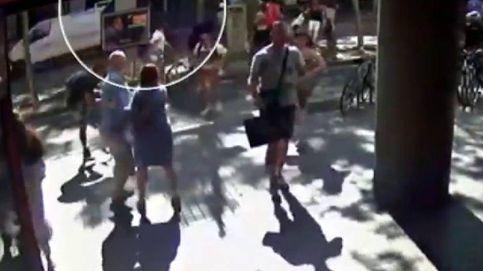 Una nueva grabación muestra el paso de la furgoneta en el atentado de Barcelona