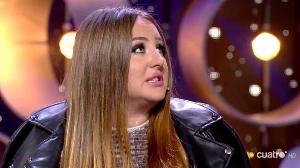 Foto: Rocío Flores, en 'GH VIP 7'. (Telecinco)