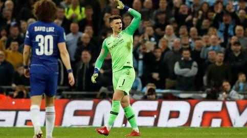Un final insólito: Kepa se niega a ser sustituido en el Chelsea y termina derrotado