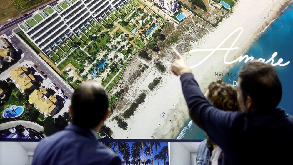 Foto: Imagen de la Feria inmobiliaria Urbe de Valencia. (EFE)