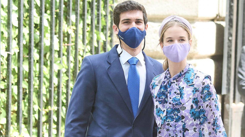 Cayetana Guillén Cuervo le copia el look de boda a Alejandra Corsini