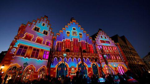 Fránkfurt se ilumina en la feria del libro