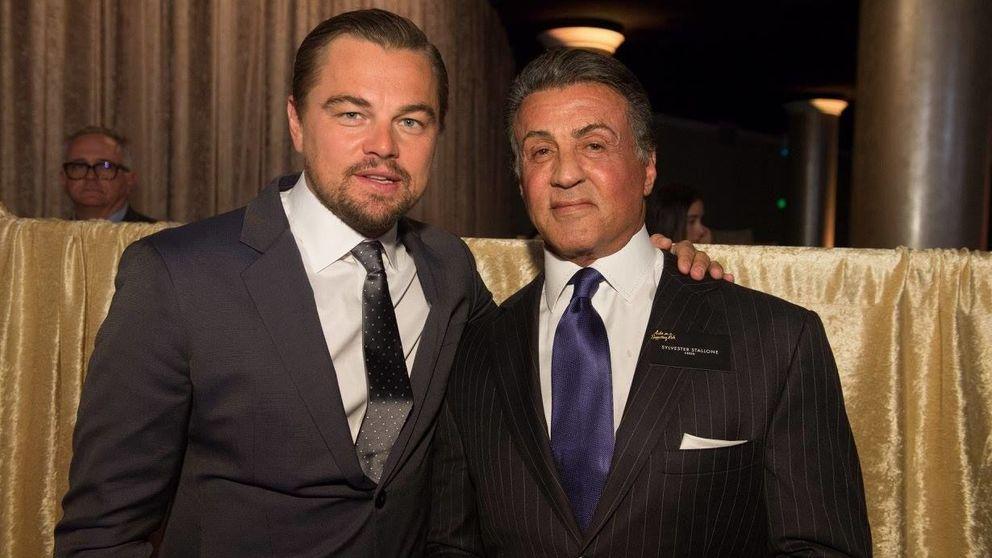 Jennifer Lawrence, Leonardo DiCaprio, Sylvester Stallone... Ninguno se pierde la comida de nominados de los Oscar