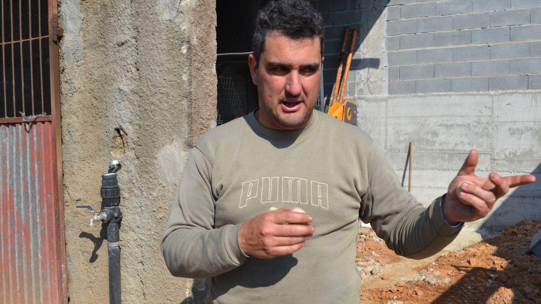 Tito André Luz, uno de los damnificados, que estima sus pérdidas en 65.000 euros. (L. Sánchez)