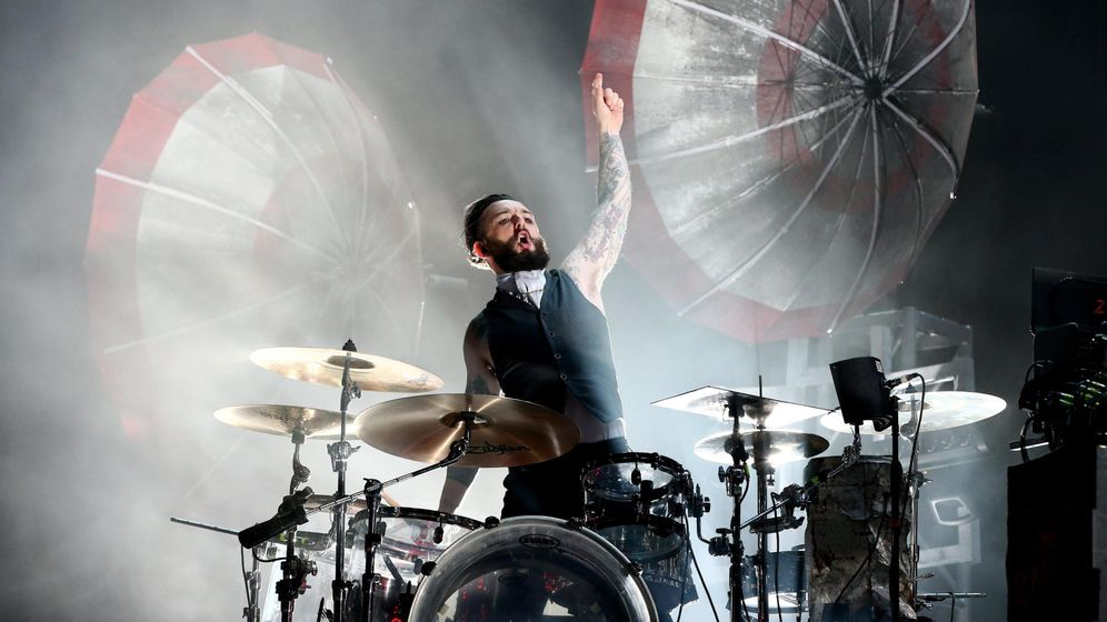 Foto: The Prodigy en concierto en 2015