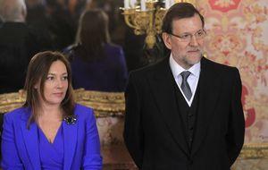 Rajoy y Viri abren la Moncloa a Vasile, Ana Rosa, Griso y Cebrián