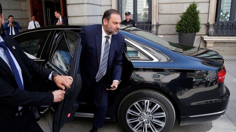 Foto: José Luis Ábalos, a su entrada en el Gobierno. (EFE)