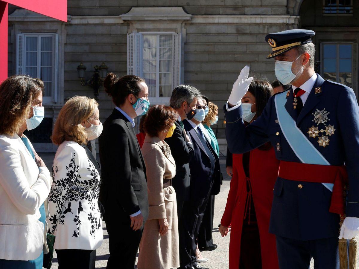 Foto: Día de la Fiesta Nacional. (EFE)