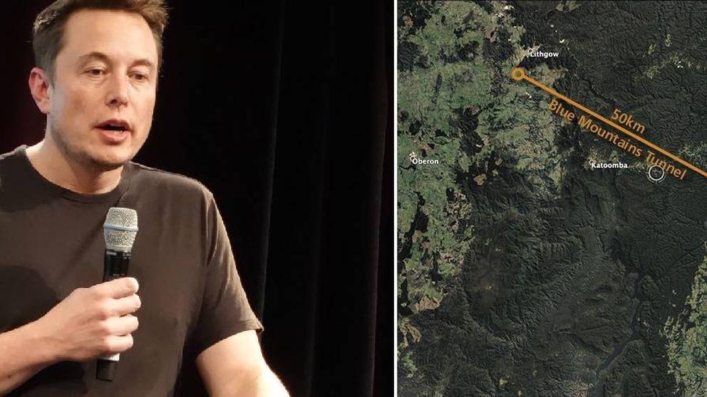 Musk dice ser capaz de construir el túnel más largo y barato del mundo (pero miente)