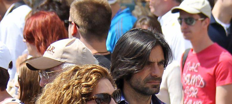 Foto: Estrella Morente y Javier Conde (I. C)