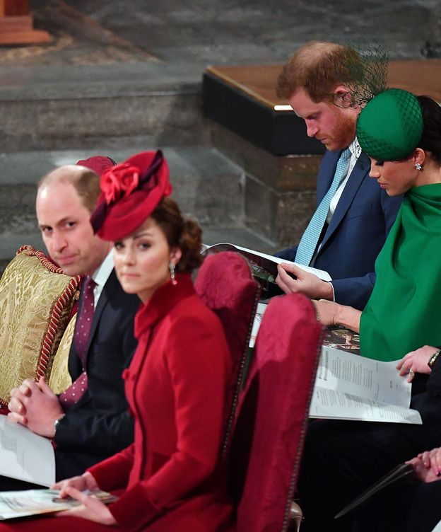 Foto: Los duques de Cambridge y los duques de Sussex. (Reuters)