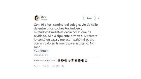 #Cuéntalo: miles de mujeres revelan en Twitter sus agresiones sexuales