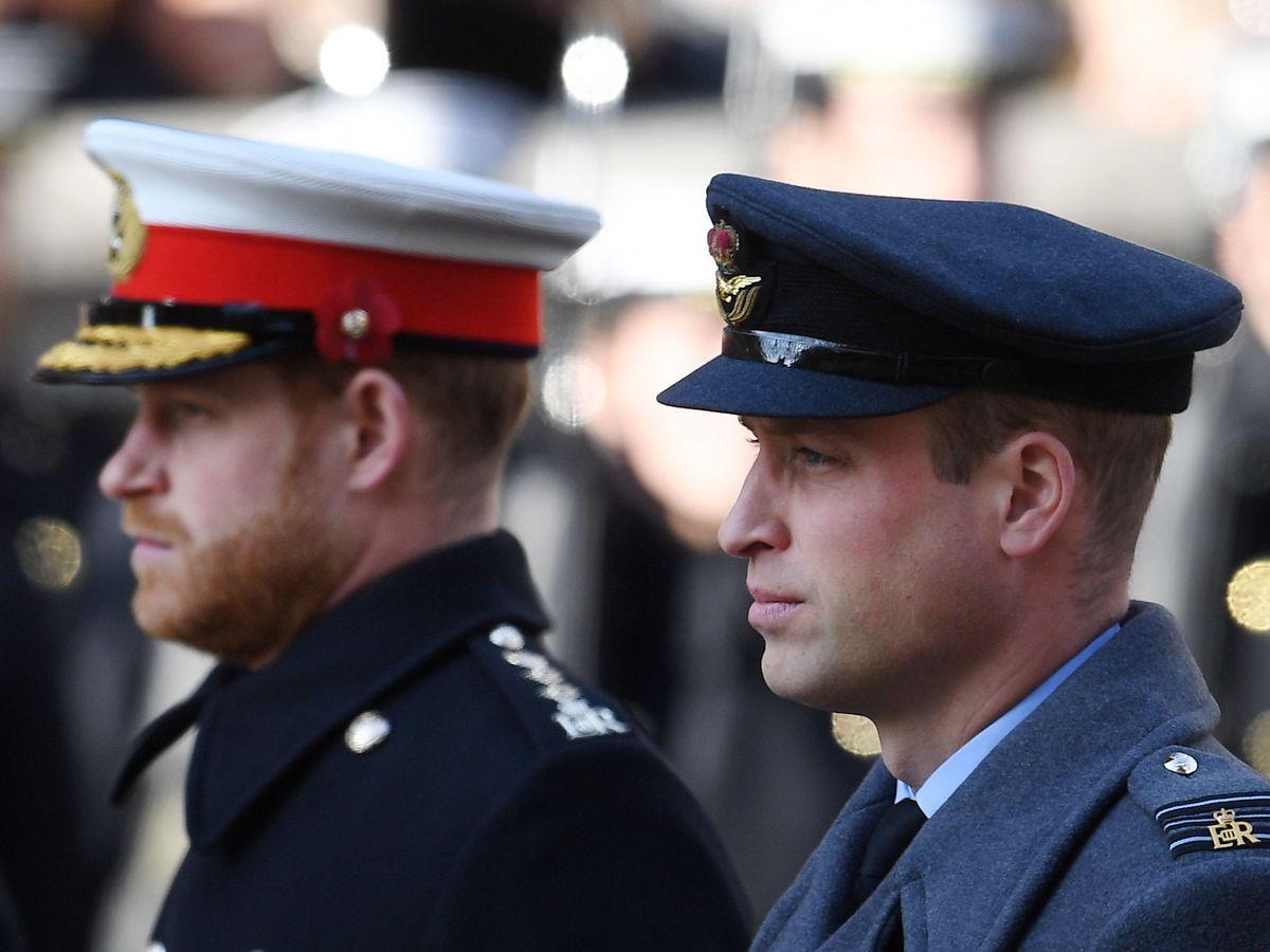 Foto: Los príncipes Guillermo y Harry, el pasado noviembre. (EFE)