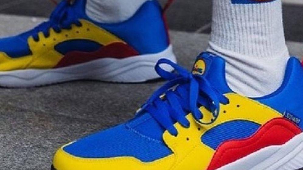Foto: Las zapatillas de deporte de Lidl. (Cortesía)