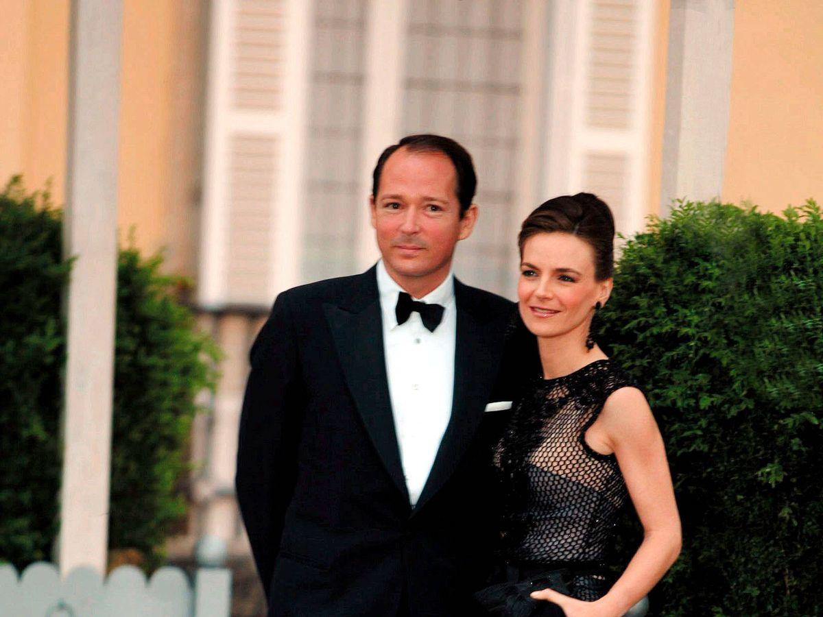 Foto:  Konstantin de Bulgaria y su mujer, María García de la Rasilla. (Cordon Press)