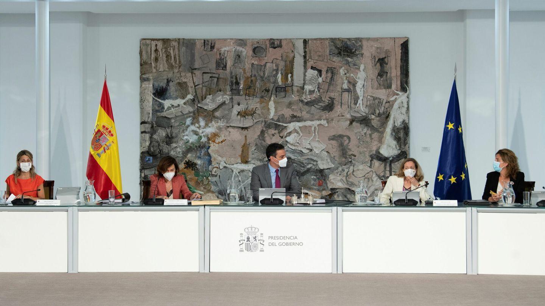 Consejo de Ministros. (EFE)