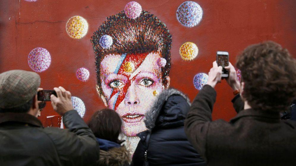 Foto: Homenajes a Bowie en Brixton (Reuters)