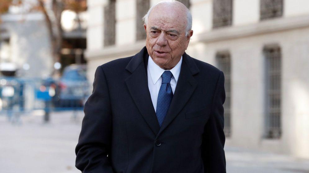 Foto: Francisco González, expresidente de BBVA, en la Audiencia (Efe)