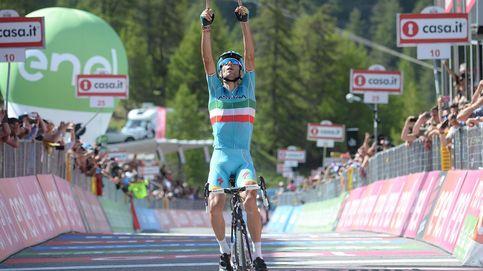 La exhibición de Nibali da un vuelco al Giro y deja a Valverde fuera del podio