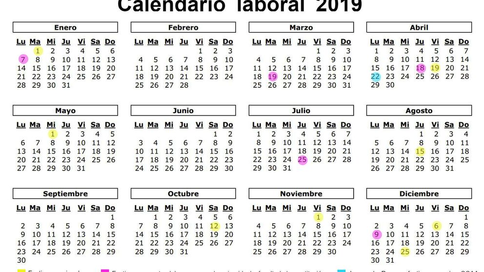 Calendario Festivo Espana 2020.Calendario Escolar 2019 2020 Para La Comunidad Valenciana