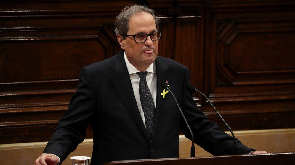 Foto: El candidato de JxCat a la presidencia de la Generalitat, Quim Torra. (Reuters)
