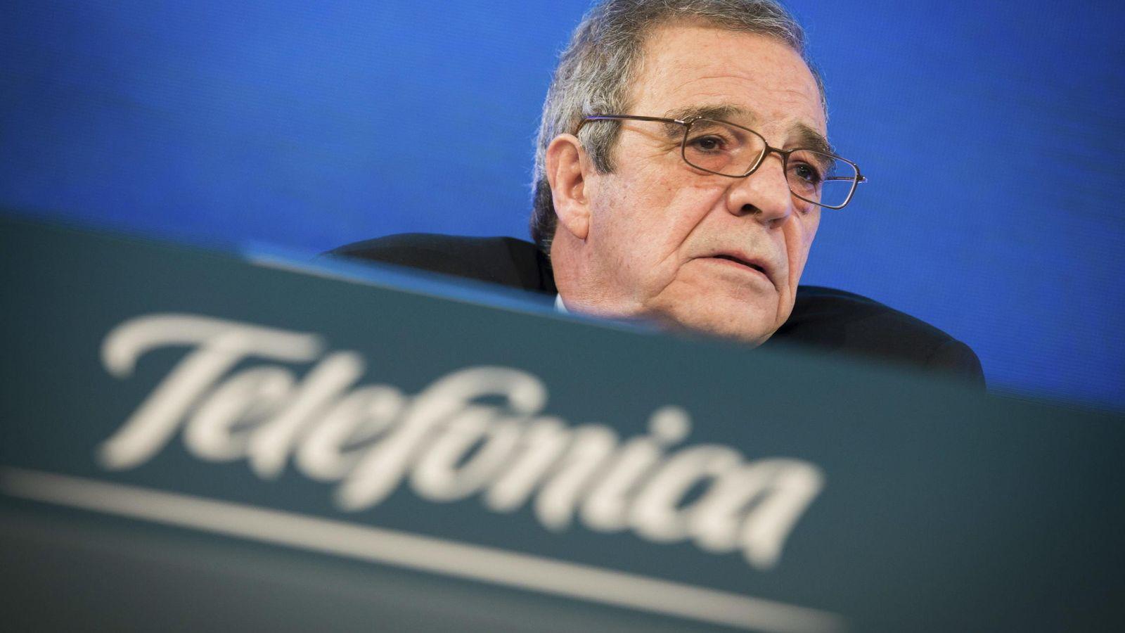 Foto: César Alierta, presidente de Telefónica. (Reuters)