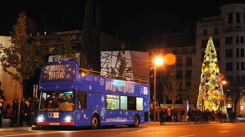 Colapsada la web para comprar entradas del Naviluz, el autobús navideño de Madrid