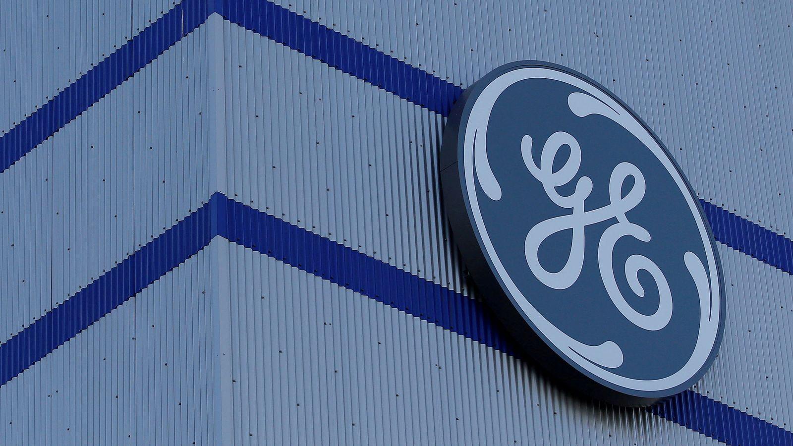 Foto: El logo de General Electric. (Reuters)