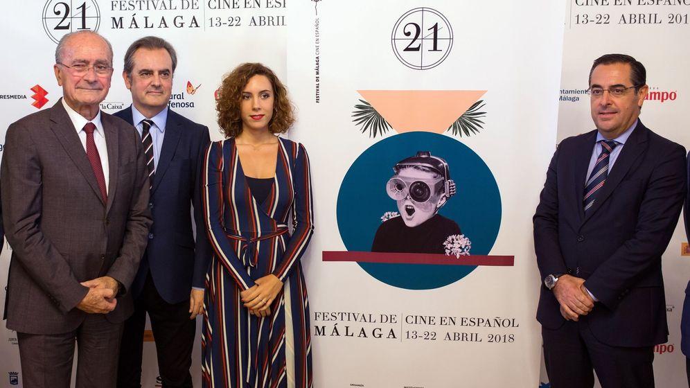 Foto: Presentación del cartel la 21 edición del Festival de Málaga (Efe).