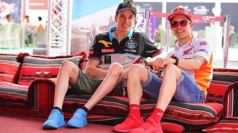 El consejo de Marc a su hermano Álex para decir no o las precipitaciones en MotoGP