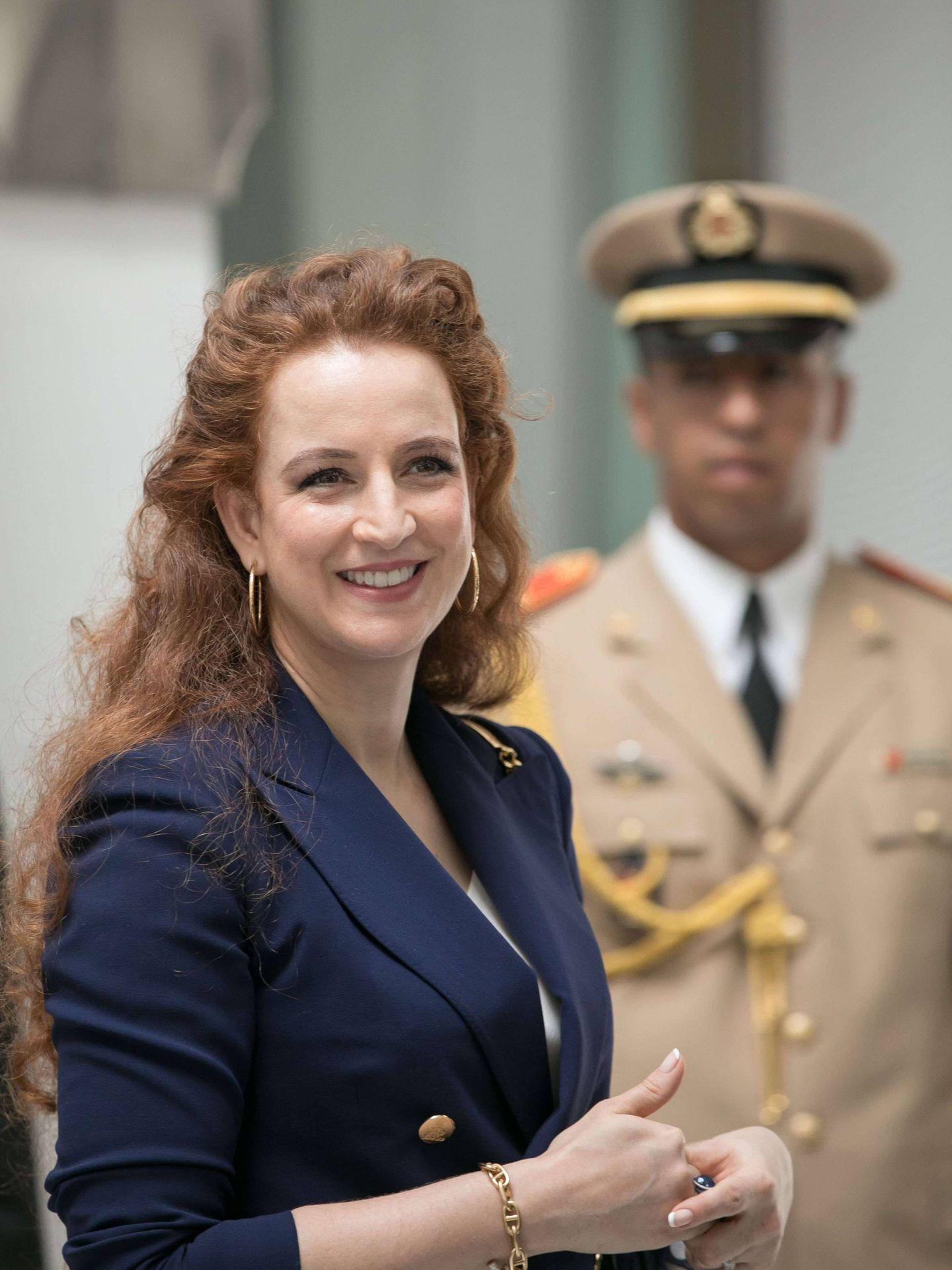 La princesa Lalla Salma, en un acto institucional. (Cordon Press)