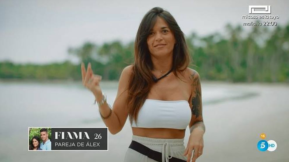 Manotazo en el estreno de 'La isla de las tentaciones': ¡No toques!