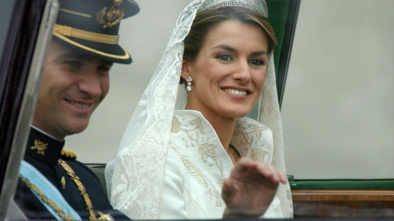 Matrimonio del Rey Felipe VI y Letizia Ortiz.