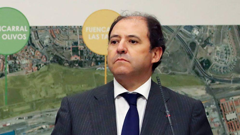 Foto: Antonio Béjar, expresidente de Distrito Castellana Norte. (EFE)