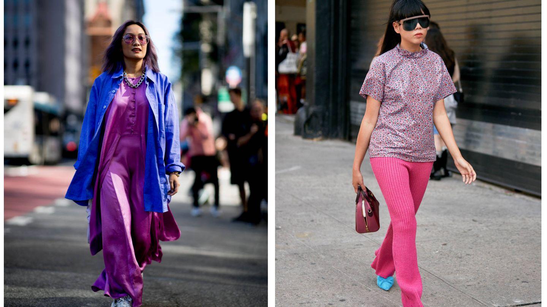 Street style en Nueva York. (Imaxtree)