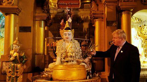 Boris saluda a Buda